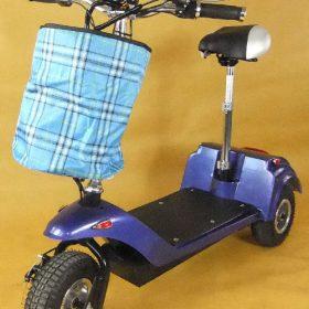 Trottinette électrique 3 roues andy pliable pour seniors ou handicapé