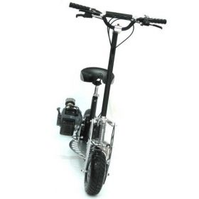 Trottinette essence adulte puissante | trotinette essence 49cc moped 2 vitesses
