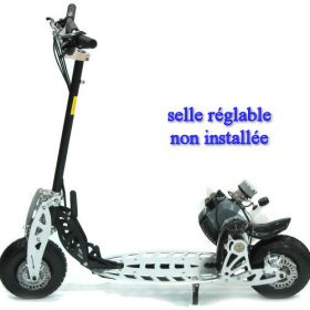 Trottinette essence pliable puissante | trotinette essence 49cc moped 2 vitesses