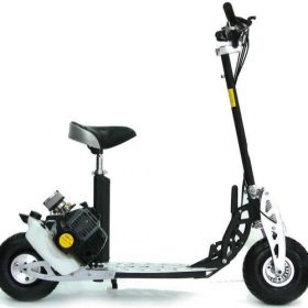 Trottinette moteur essence tout terrain | trotinette essence 49cc moped 2 vitesses