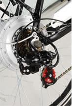 derailleur velo electriques - Vélo Electrique femme SILVER avec démarrage facile