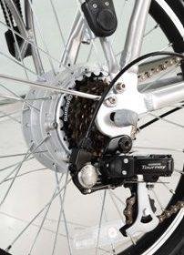 moteur velo electrique 202x280 - Vélo Electrique femme SILVER avec démarrage facile