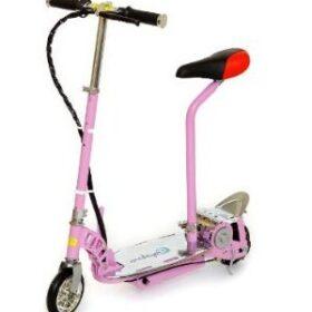 Trottinette électrique freestyle kid 120w pour adolescents ou enfants, adapable 2 roues de stabilisateurs
