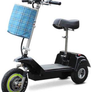 Trottinette électrique 3 roues ANDY DELUX par les seniors et les personnes ayant un problème d'équilibre