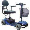 Trottinette électrique 4 roues pour séniors et handicapes, retrouverez votre autonomie