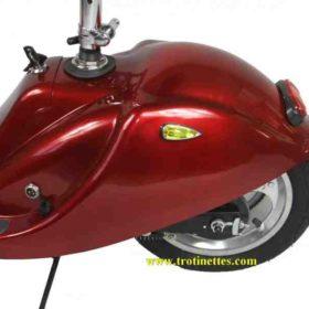 Clignotants et feux de stop pour trottinette électrique surfer pliable avec selle et grandes roues