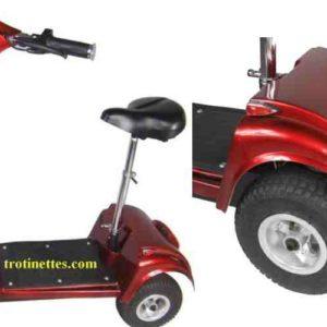 Trottinette électrique 3 roues andy, idéal pour remplacer votre fauteuil roulant