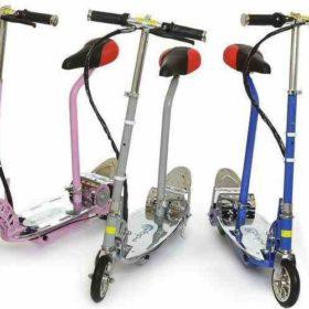 Trottinette électrique freestyle kid 120w pour adolescents ou enfants, vous pouvez rouler avec ou sans selle