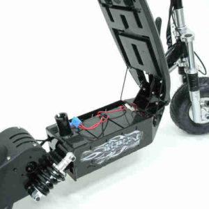 Trottinette électrique puissante bladz 800w accès facile à la packs batteries