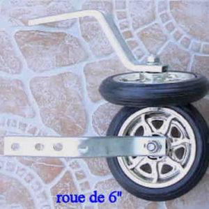 Kit de roues de stabilisateurs pour nos trottinettes électroniques 2 roues