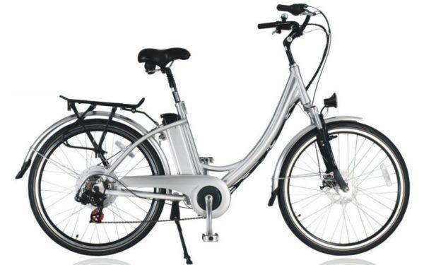 Vélo Electrique femme SILVER avec démarrage facile