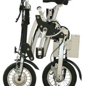 Vélo électrique pliant egenius, idéal pour mettre dans le coffre de voiture, camping car, bateau ou avion