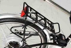 velo electriques porte bagage - Vélo Electrique femme SILVER avec démarrage facile