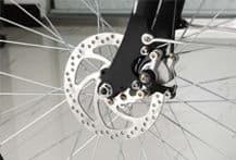 velo vtt electrique frein a disque - Vélo Electrique femme SILVER avec démarrage facile