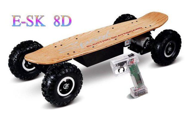 Skate electrique 8d | skate electrique esk 8d