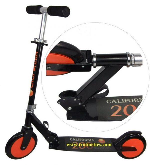 Patinette pliant avec grande roue pour adultes ou enfant
