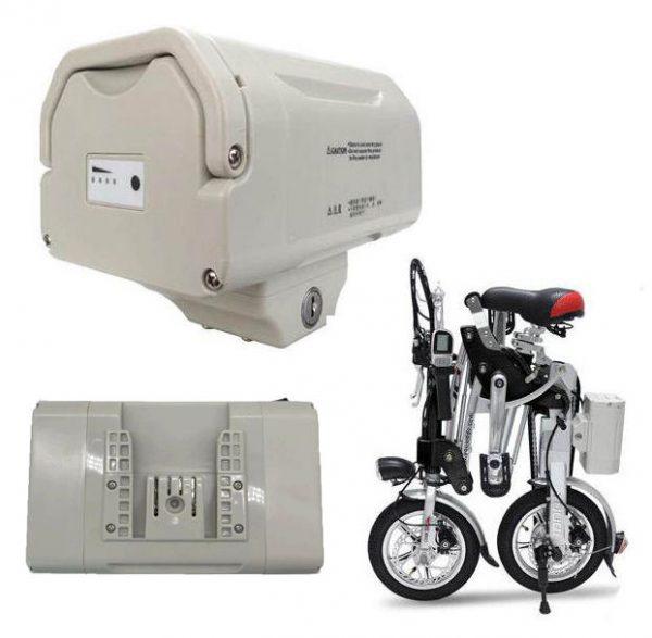 Batterie en lithium 36v pour notre vélo électrique pliant egenius