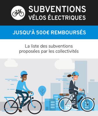 Liste de subventions et primes pour achat un vélo électrique