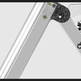 Vélo électrique femme pliant 3 roues super léger, fabrique avec aluminium aéronautique de haut de gamme.